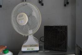 Micro Marc Deck Fan and a EWT Fan