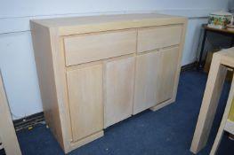 Sideboard in Limed Oak Finish (to match lot 1)