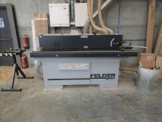*Felder G360-4 Hot Melt Edge Banding Machine