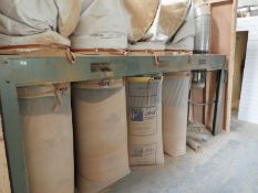 *Dust Harvester Four Bag Dust Extraction System with Ducting