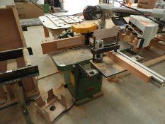 *Wadkin Bursgreen Spindle Moulder. Model: BER2, Machine No: 70593 with Brake