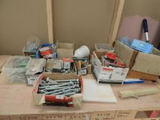 *Quantity of Assorted Ironmongery and Fixings