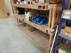 *Softwood Shelving Unit
