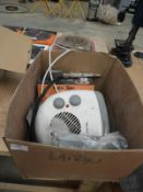 *Electric Fan Heater and a Tyre Inflator