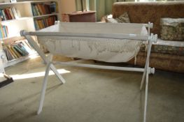 Vintage Folding Crib (AF)