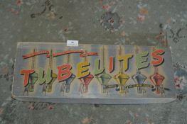 Vintage Box of Tubelites Christmas Lights