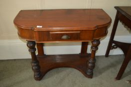 Hall Table with Single Drawer (AF)