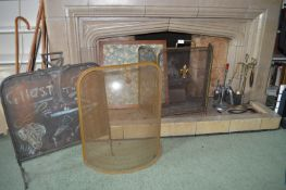 Selection of Fire Screens