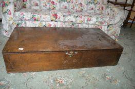 Large Plywood Storage Box
