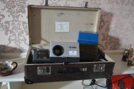 Rollei Projector, Travel Case, etc.