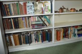 Four Shelves of Various Hardback and Paperback Boo