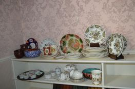 Quantity of China, Decorative Plates, Trinket Box, Jugs, etc.