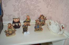 Seven Goebel Figures