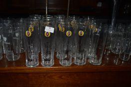 Twenty Fosters Pint Glasses
