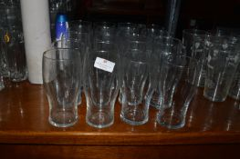 Twenty Unbranded Pint Glasses