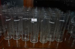 Forty Strongbow Pint Glasses