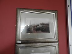 Framed Black & White Photograph of The Humber from the Pier