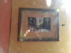 Framed Black & White Photograph of Lowgate Hull