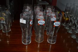 Twelve Kronenbourg 1664 Pint Glasses