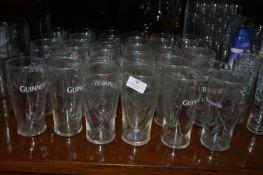 Thirty Guinness Pint Glasses