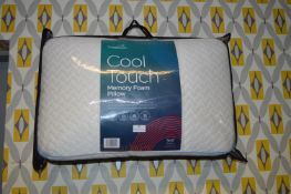 *Snuggle Cool Touch Memory Foam Pillow