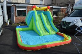 *Inflatable Water Slide