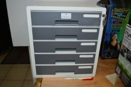 *Sysmax Lockable 5 Drawer File Unit