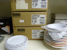 *Three Boxes of Forty-Eight 10oz Plastic Grapefruit Bowls and Extras