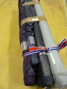 4 Rolls of Assorted Fabric ~1.6m width