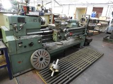 """*Tos SN50B Gap Bed Centre Lathe with Three and Four Jaw Chucks, Faceplate, and Steady - 12"""" Swing 80"""