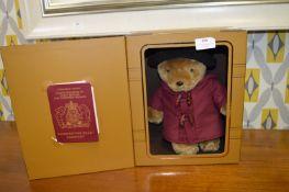 Boxed Paddington Bear