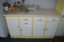 Vintage Kitchen Counter Unit