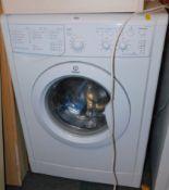 An Indesit 6kg A Class washing machine, model no IWSC61251.