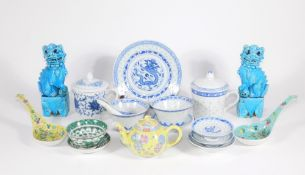 A group of mainly 20thC Chinese ceramics.