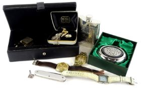 Miscellaneous items, to include a 1960's/70's Tissot Automatic PR516 GL gentleman's wristwatch,