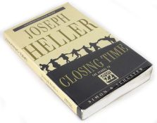 Heller (Joseph) CLOSING TIME uncorrected proof copy number 240, signed by the author on pasted-in