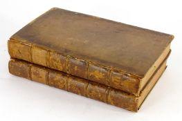 Hudson (William) FLORA ANGLICA…, 2 vol., contemporary calf, boards a little loose, 8 vo, J. Nourse
