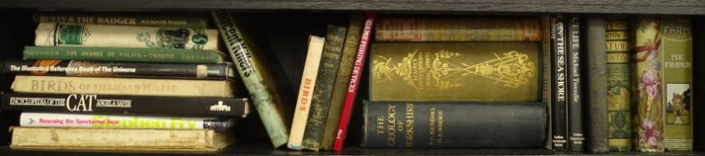 Natural History.- a shelf of mixed volumes, v.s, v.d. (small qty)