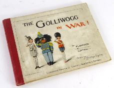 Upton (Florence) THE GOLLIWOGG IN WAR, FIRST EDITON, chromolithographed illustrations, publisher's