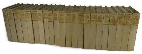 Kipling (Rudyard) WORKS, The Bombay Edition, lacks vol, 3, 20 and 25, vol 1 signed by the author,