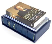 Thatcher (Margaret) THE PATH TO POWER, one of 500 signed by the author, blue crushed morocco, g.