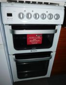 A Hotpoint Ultima electric cooker, with ceramic hob, model no HUE53.