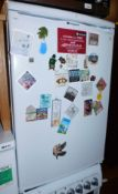 A Hotpoint Ice Diamond under counter fridge, model no RSAV21.