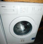 A BEKO 5kg A+ washing machine, model no WM5102W.