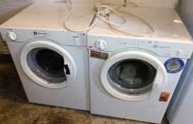 *Two White Knight 3kg load tumble dryers, in white. (2)
