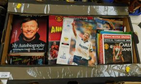 Football ephemera, to include annuals, books, programmes to include Stockport County vs Oldham
