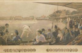 Robert Ponsonby Staples (1853-1943), Hamilton Barrable (19thC). Imagining Cricket Match, England