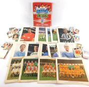 A and B C Football Facts cards., Hall of Fame Footballer cards., Did You Know cards., Football