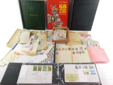 Philately. Great Britain and World stamps, QV - EII., including Empire and Commonwealth in two