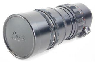 A Leitz Canada 280mm f4.8 Telyt lens, number 2122685, for a Visoflex.